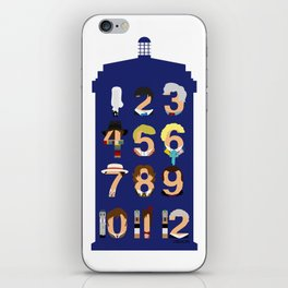 The Number Who iPhone Skin