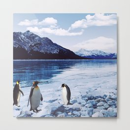 Living Free in the North Metal Print