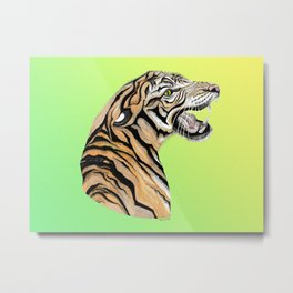 Tiger Totem Metal Print
