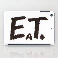eat iPad Cases featuring EAT by Masahisa  Saito