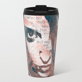 Red Hypothermia Travel Mug