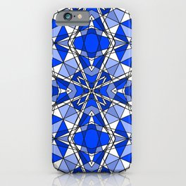 Blue Sapphire iPhone Case