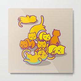 cats ! Metal Print