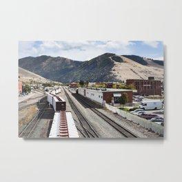 Missoula Overpass Metal Print