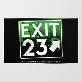 Exit 23 - Pike County Southern Rock Rug