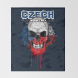 To The Core Collection: Czech Republic Throw Blanket