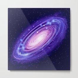 Deep Space Andromeda Galaxy  Metal Print