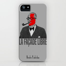 La Façade Libre iPhone Case