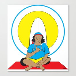 Surf Religion Canvas Print