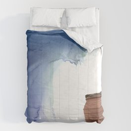 Blue Magic Pot Comforters