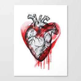 THE HEART Canvas Print