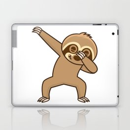 Sloth dab Laptop & iPad Skin
