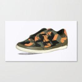 Digital Shoe Canvas Print