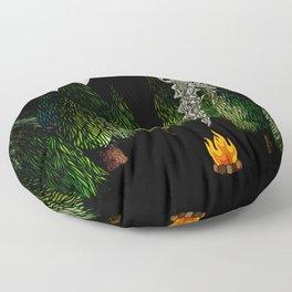 Campfire Floor Pillow