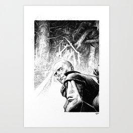 Stalker by Anna Helena Szymborska Art Print