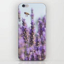 Lavender Bee iPhone Skin