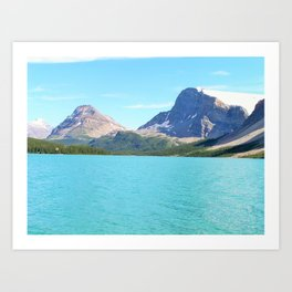 Waterfowl Lake Art Print