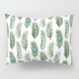 Palm Leaves Pattern Pillow Sham