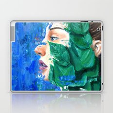 Leaves and face Laptop & iPad Skin