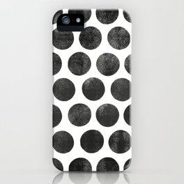 colorplay b&w iPhone Case