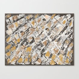 The golden windows Canvas Print