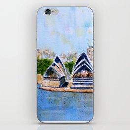 Colorful Sydney Harbor iPhone Skin