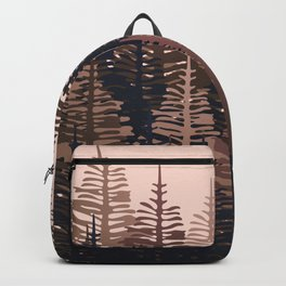 Pine Forest - Midnight Neutral Backpack
