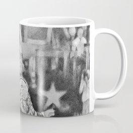 Zeke Elliott drawing by Candida- Cowboys Coffee Mug