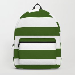 Simply Stripes in Jungle Green Backpack