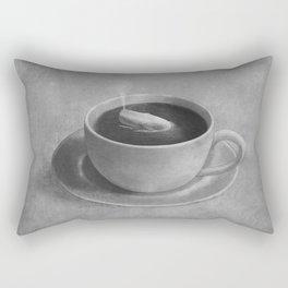 Whale in a tea cup  Rectangular Pillow