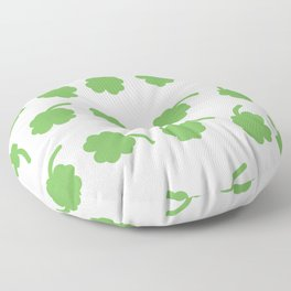 clover patter Floor Pillow