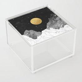 Moon and Stars Acrylic Box