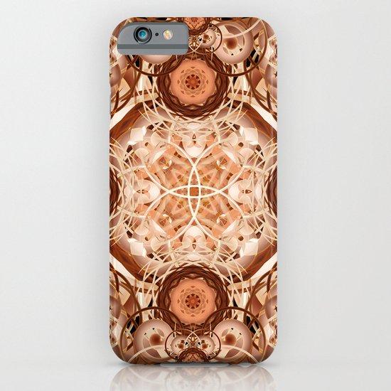 Coffee & Cream Mandala iPhone & iPod Case