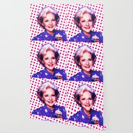Betty White - Pop Art Wallpaper