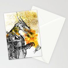 The dynamo and the virgin Stationery Cards