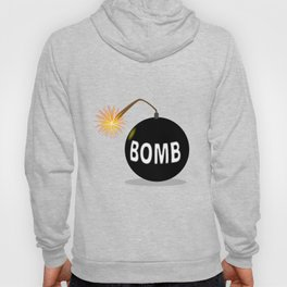 Cartoon Bomb Hoody
