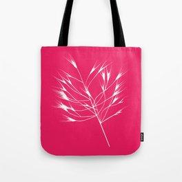 Beautiful pink weeds Tote Bag