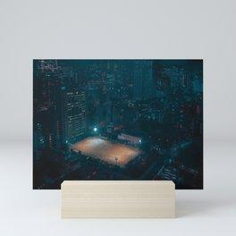 Cyber Soccer Mini Art Print