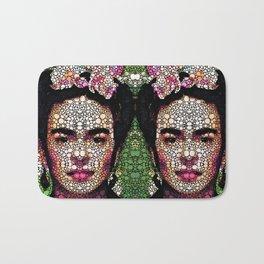 Frida Kahlo Art - Define Beauty Bath Mat