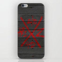 The Dead Walk X-Code iPhone Skin