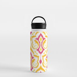 Ikat Damask - Berry Brights Water Bottle