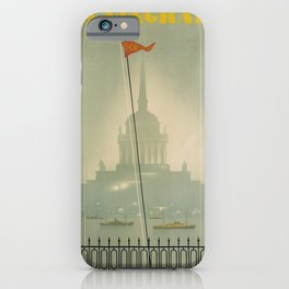 retro Leningrad iPhone Case