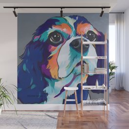 Millie the Cavalier King Charles Wall Mural