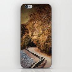 Riverside Drive in Autumn - Landscape iPhone & iPod Skin