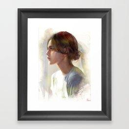 Take a decision Framed Art Print