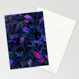 Future Garden Tropical Night Stationery Cards