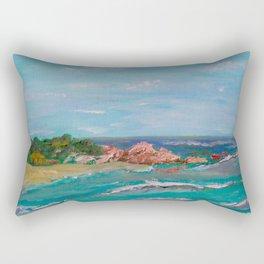 La Punta beach Mexico, Puerto Escondido Rectangular Pillow