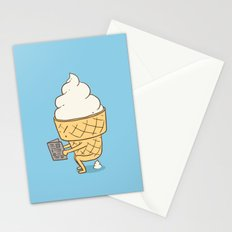 Everyone Poops (Blue) Stationery Cards