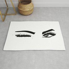 Wink Eyes Rug