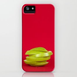 Sliced up. iPhone Case